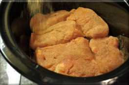 pot crock in Cooking breast chicken